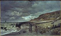 Claude Monet / Pointe de la Hève... by AKG  Images