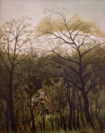 H.Rousseau, Verabredung im Wald von AKG  Images
