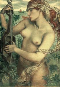 Rossetti / Sirene Ligeia / 1873 by AKG  Images