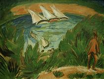 E.L.Kirchner, Segelboote im Sturm von AKG  Images