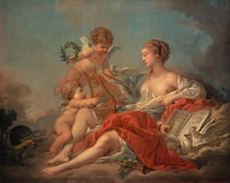 Boucher / Allegory of Music / 1764 by AKG  Images