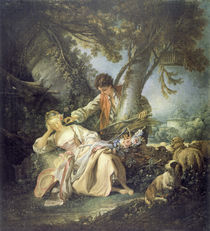 Boucher / The Sleeping Shepherdess by AKG  Images