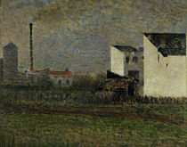 G.Seurat, The Suburb / 1882 by AKG  Images