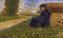 G.Seurat, Massige Gestalt... von AKG  Images