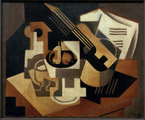 G.Braque, Guitar and fruit bowl by AKG  Images