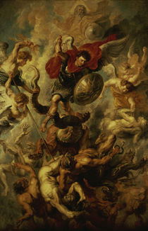 P. P. Rubens / The Fall of the Angels by AKG  Images