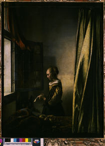 Vermeer / Girl reading a letter /  c. 1659 by AKG  Images