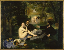 Edouard Manet / Dejeuner sur l'herbe/1863 by AKG  Images
