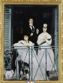 Manet / The Balcony / 1868 by AKG  Images