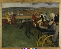E.Degas, Pferderennbahn /  um 1877–80 von AKG  Images