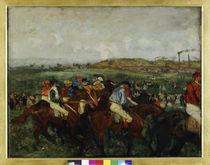 E.Degas, Gentlemen-Rennen von AKG  Images