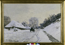 Claude Monet / The Cart /  c. 1867 by AKG  Images