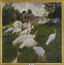 Claude Monet / Truthähne / 1877 von AKG  Images