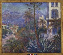 C.Monet, Villen in Bordighera von AKG  Images