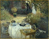 Monet, Le Déjeuner / 1872 von AKG  Images