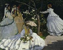 C.Monet / Women in garden / 1867 / Detail by AKG  Images