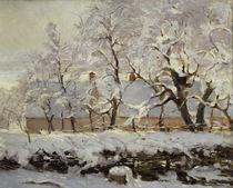 C.Monet, Die Elster / 1868–69 / Detail von AKG  Images