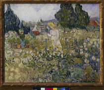 van Gogh / M. Gachet in her Garden by AKG  Images