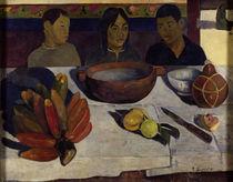 Gauguin, Tahitische Jungen am Tisch/1891 von AKG  Images
