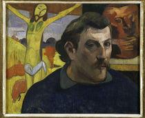 Paul Gauguin, Selbstbildnis mit Christus von AKG  Images