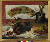Gauguin / Still Life with Fan / 1889. by AKG  Images