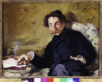 Stephane Mallarme / E. Manet / 1876 by AKG  Images