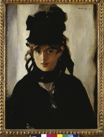 Berthe Morisot / by E.Manet by AKG  Images