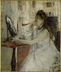 Morisot / Jeune femme se poudrant / 1877 by AKG  Images