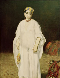 E.Manet, Young woman in oriental dress by AKG  Images