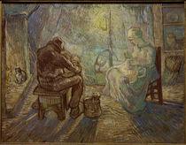van Gogh aft. J.F.Millet, Evening / Ptg. by AKG  Images