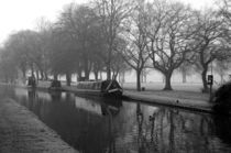 Shobnal Fields Visitor Moorings, in Mono von Rod Johnson