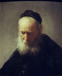 Rembrandt, Kopf eines alten Mannes von AKG  Images
