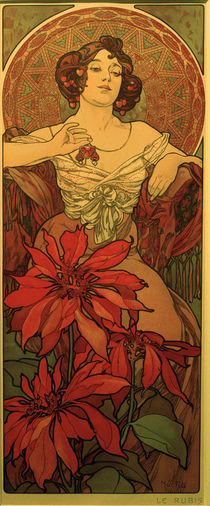 Mucha / Ruby / 1900 by AKG  Images