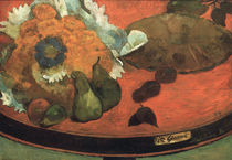 Gauguin / Still Life Fete Gloanec / 1888 by AKG  Images