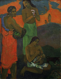 Gauguin / Women at Seashore / Maternity by AKG  Images