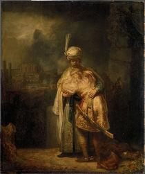 Rembrandt, David... Abschied v. Jonathan von AKG  Images