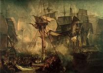 Schlacht bei Trafalgar / Turner von AKG  Images