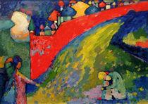 W.Kandinsky, Rote Mauer (Kuppeln) von AKG  Images