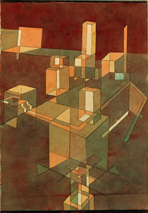 Klee, Italian City / Watercol./ 1928 by AKG  Images