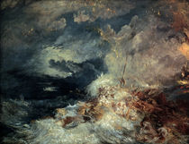 Turner / Fire at Sea by AKG  Images