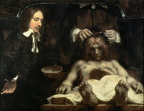 Rembrandt / Anatomy of Dr. Deijman by AKG  Images