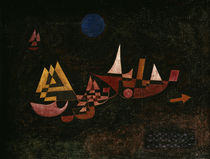 Paul Klee, Abfahrt der Schiffe / 1927 von AKG  Images