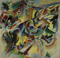 "Wassily Kandinsky / ""Improvisation Klamm"" / Painting, 1914. by AKG  Images"