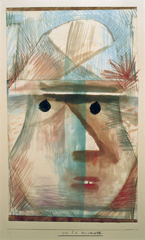 Paul Klee, Mask of Old Woman / 1929 by AKG  Images