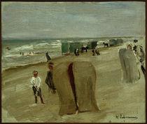 M. Liebermann, Strandszene in Noordwijk by AKG  Images