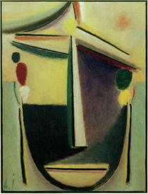 A. v. Jawlensky, Abstrakter Kopf, um 1922 by AKG  Images