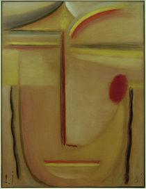 A. v. Jawlensky, Abstrakt. Kopf: Gold u. Rosa by AKG  Images