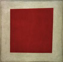 K.Malewitsch, Rotes Quadrat (Malerischer Realismus einer Bäuerin) von AKG  Images