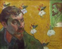 Paul Gauguin / Self-portrait 1888 by AKG  Images