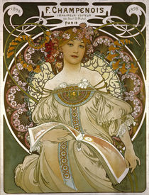 Mucha / Poster for Champenois / 1898 by AKG  Images